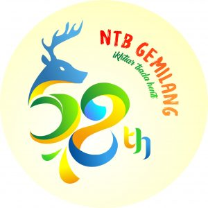 Logo HUT 58 NTB Gemilang